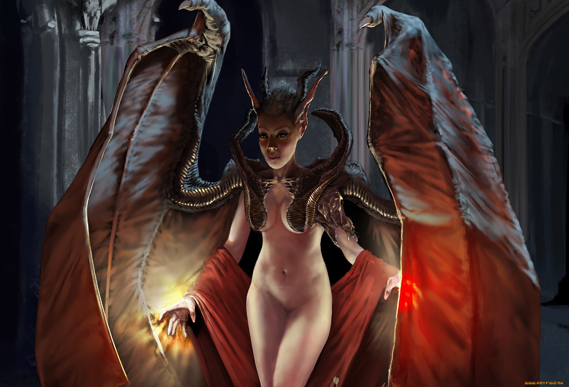 Adult demon fantasy art porn vids